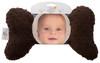 Chocolate Minky Baby Head Pillow