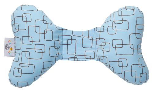 Blue Mod Head Support Pillow