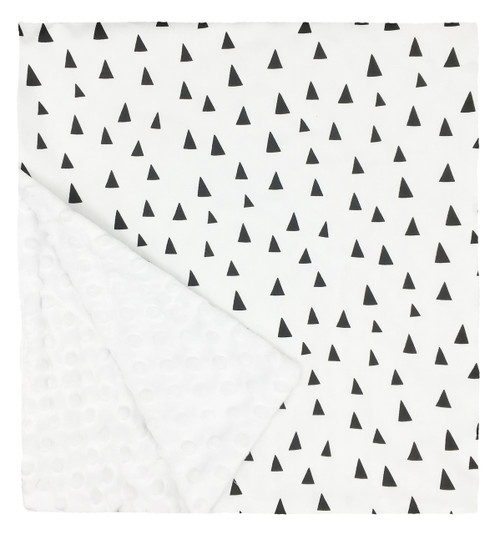 """Tiny Triangles Large Blanket (27"""" x 29"""")"""