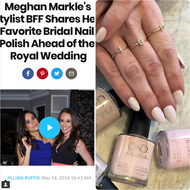 People.com Feature - Meghan Markle's Stylist Jessica Mulroney Features Mini Mini Jewelry Ahead of the Royal Wedding