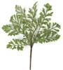 """A-172120 15"""" Plastic Fern Bush"""