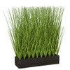 "A-184730 - 16"" Planted Onion Grass with Foam Base"