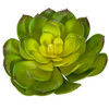 "A-184360 - Green/Yellow Echeveria 8"" Width Artificial Succulents"