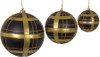 """Grouping of 4"""", 6"""", and 8"""" Plaid Ball"""