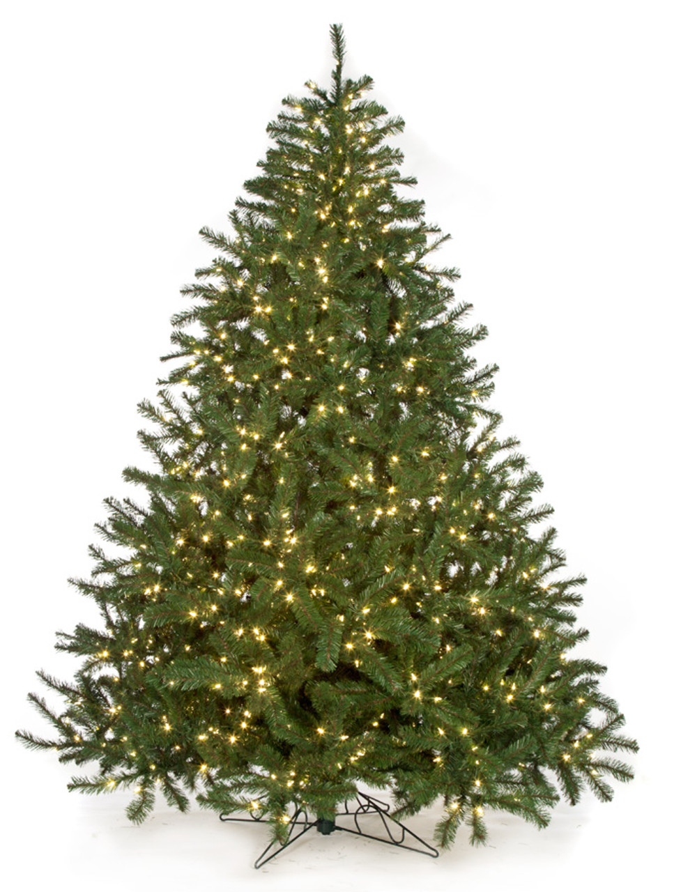 c 72004 9 virginia pine with led lights 84 width - Artificial Christmas Trees Wholesale
