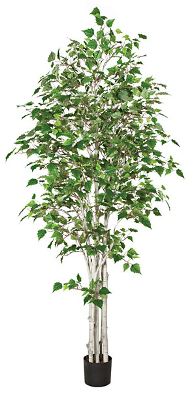 Fabulous White Birch Trees, 7 or 9' Tall | Artificial Birch Trees Online KC38