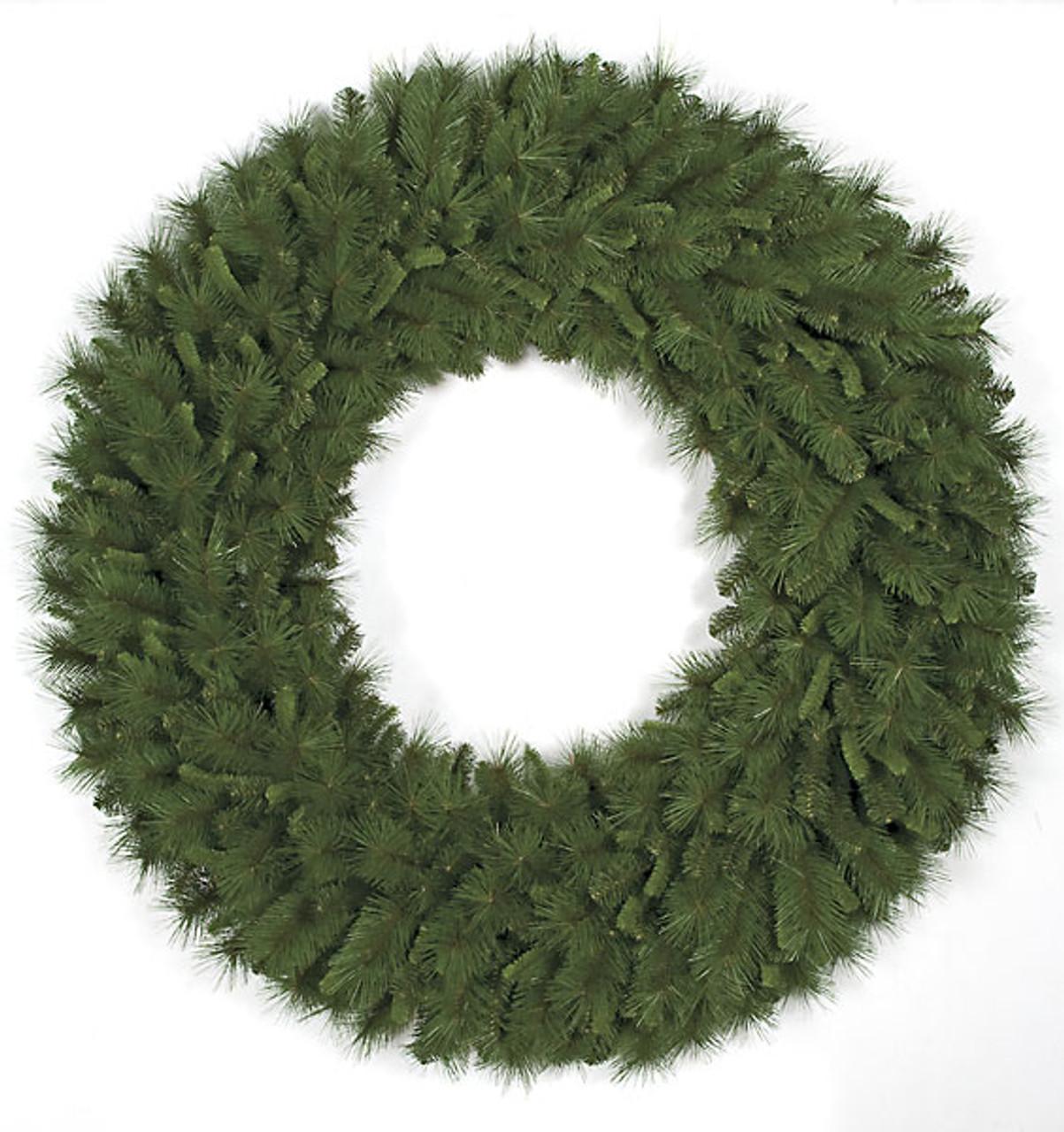 c 06015 60 mixed pine wreath pvc material