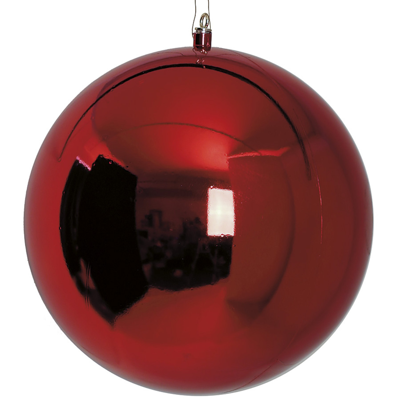 j 171040 red - Red And Silver Christmas Ornaments