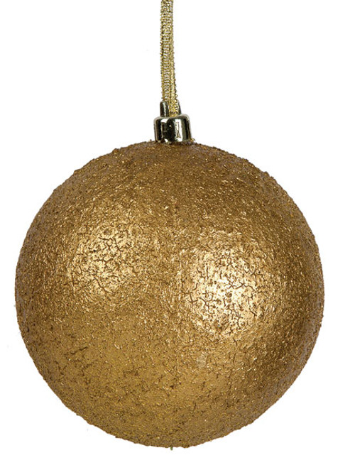 4 Inch Antique Ball - Bronze