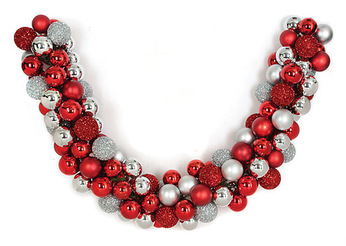 6 Foot Ball Garland 