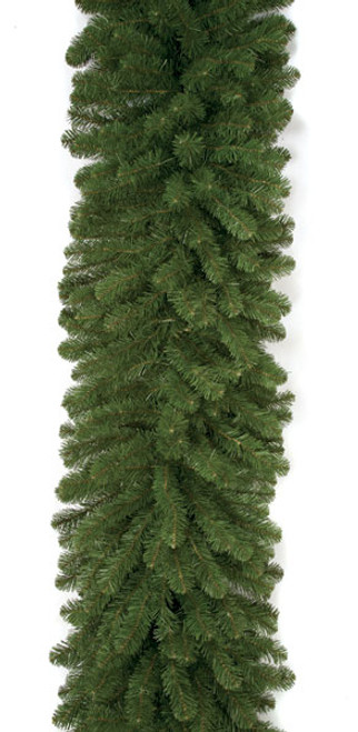 9 Foot x 24 Inch Commercial Pine Garlands