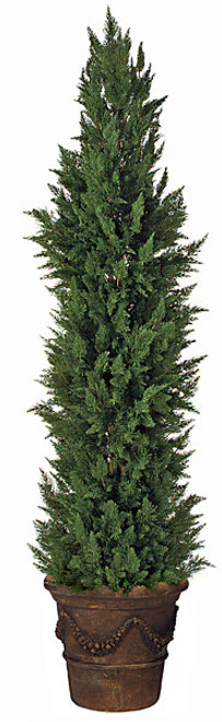 10 Foot Cypress Shrub Synthetic Trunk