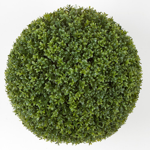 20 Inch Outdoor Boxwood Ball - New Leaf Style