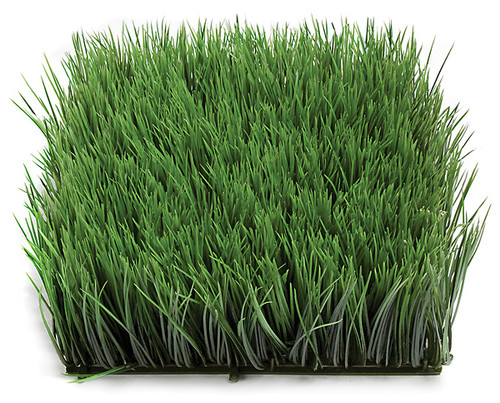 10 Inch x 4.5 Inch Polyblend Grass Mat - Regular or Fire Retardant