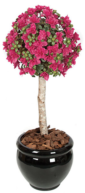 3.5 Foot Polyblend Azalea Ball Topiary
