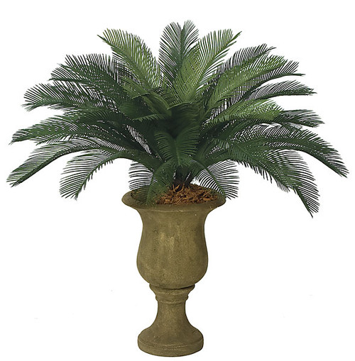 3 Foot Polyblend Cycas Palm, 36 Fronds