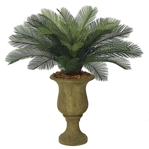 3 Foot Polyblend Cycas Palm, 24 Fronds
