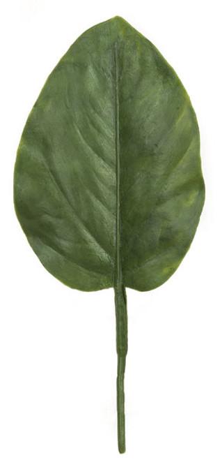7 Inch Polyblend Medium Banyan Leaf