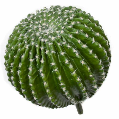 13 Inch Barrel CactusPink Flocked Needles