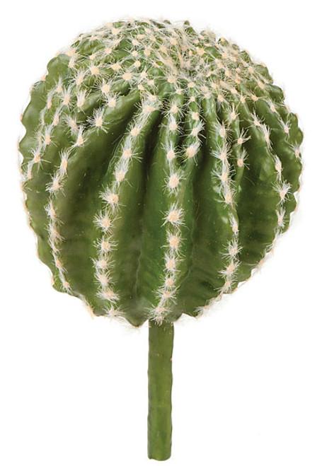 9.5 Inch Barrel Cactus Pink Flocked Needles