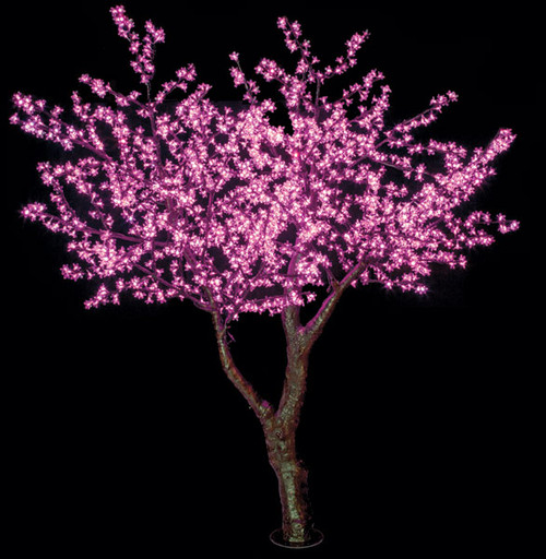 Artificial Pre Lit Cherry Blossom Tree Faux Cherry