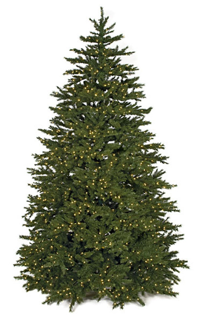 windswept pine tree with led lights - Artificial Christmas Trees Wholesale
