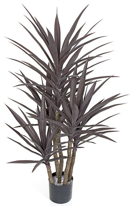 53 Inch UV Rated Yucca Plant