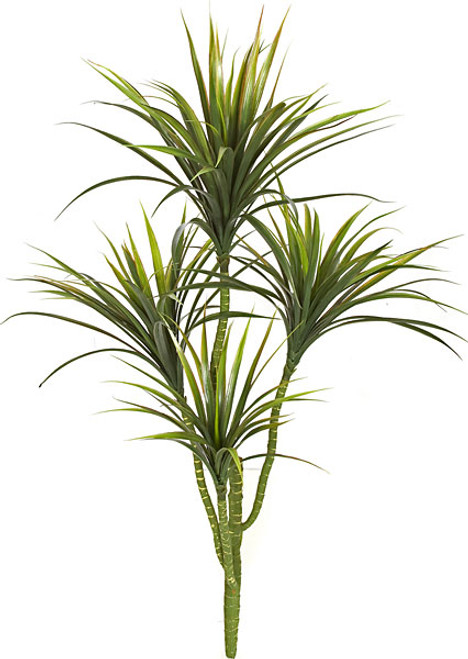 "42"" Plastic Yucca Plant with 4 Heads"