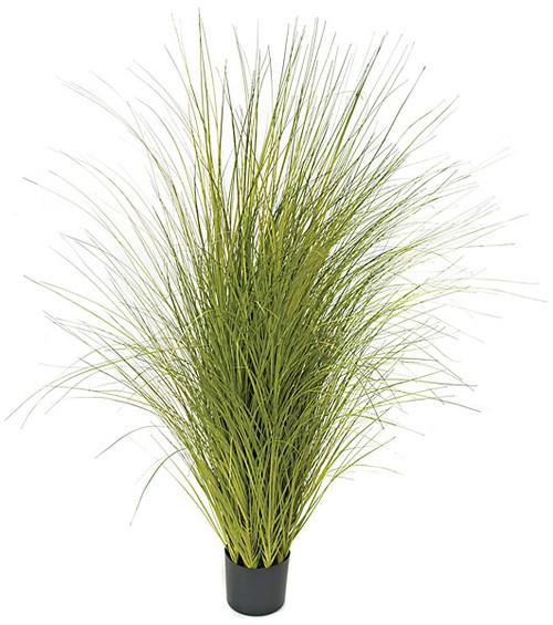 "60"" PVC Onion Grass - Green/Yellow"