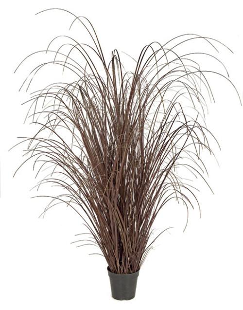 "50"" PVC Onion Grass - Brown Color"