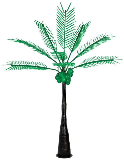 L-14501012.5' Lighted Palm Tree with Dark TrunkGreen LED Lights