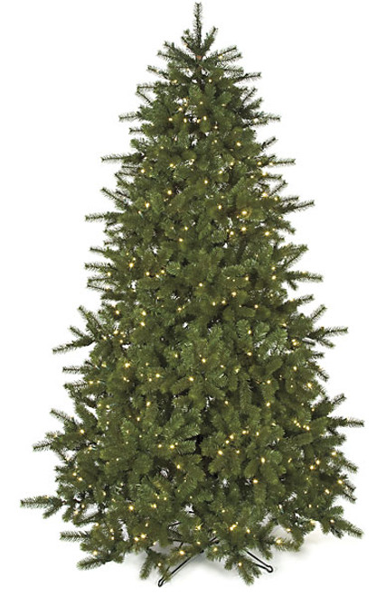 C-901747.5 ft. Douglas Fir Tree with LED Lights