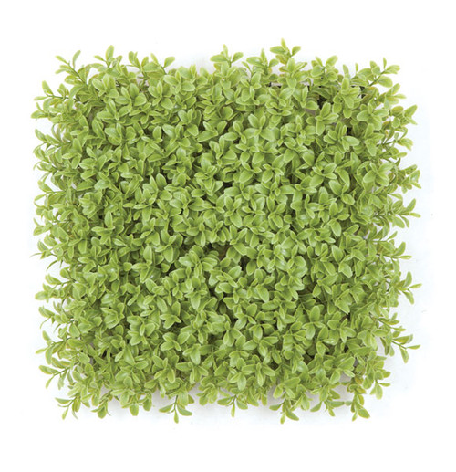 10 Inch Light Green Plastic Boxwood Mat in Regular or IFR