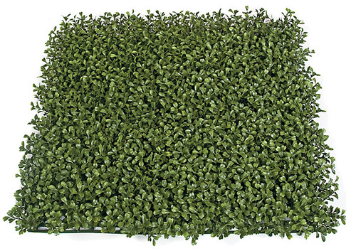 20 x 20 x 3 Inch Plastic Boxwood Mat - IFR/UV