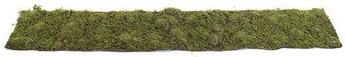"""A-60575 72"""" x 12"""" Moss Mat - Green"""
