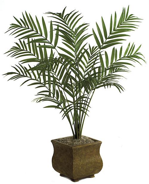 P-62732 8' Kentia Palm - 15 Fronds - Bare Stem - Decorative Pot Sold Separately
