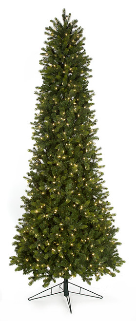 C-1604149' PE/PVC Allegheny Fir Tree with LED Lights