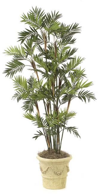 W-2386 7' Parlour Palm Tree - Decorative Planter Sold Separately
