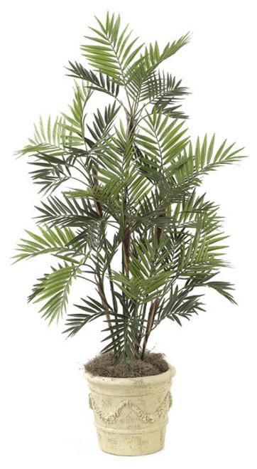 W-2385  5' Parlour Palm Tree - Decorative Planter Sold Separately