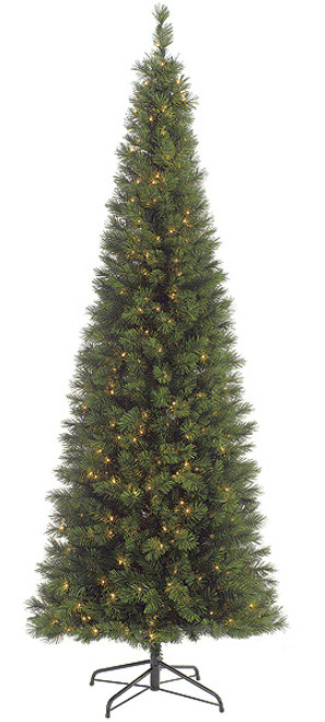C-601319 ft. Pencil Pine Treewith Clear Lights