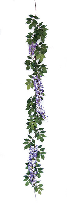 6 Foot Wisteria Garland