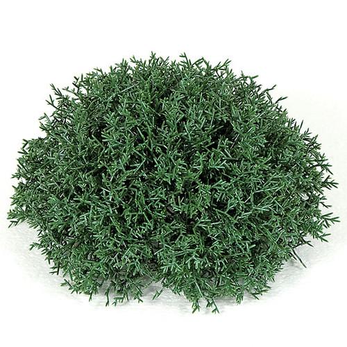 8.5 Inch x 4. 5 Inch Plastic Coral Foliage Half Ball