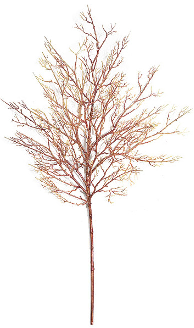 """34"""" Coral Twig Spray"""
