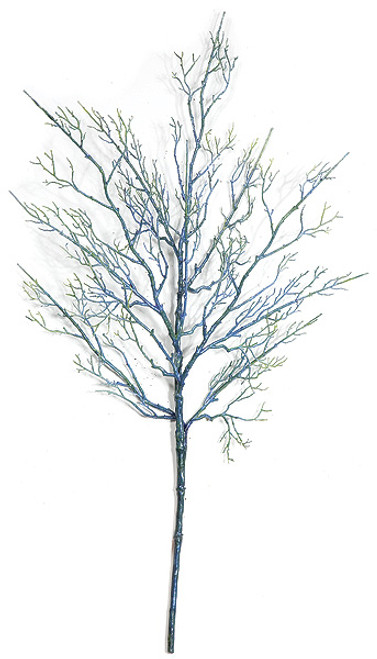 """24"""" Coral Twig SprayBlue"""