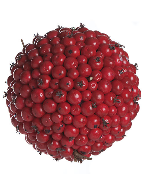4.5 Inch Red Berry Ball