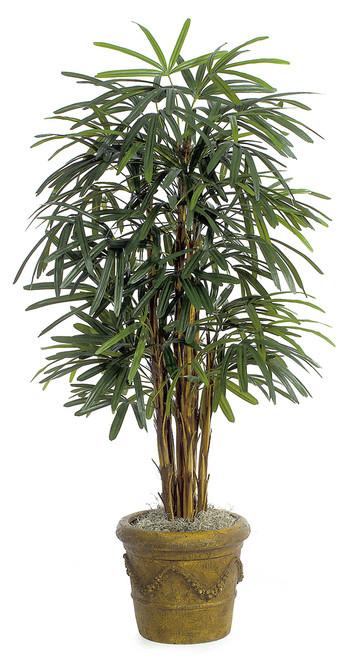 5' Lady Palm TreeDecorative Planter Sold Separately
