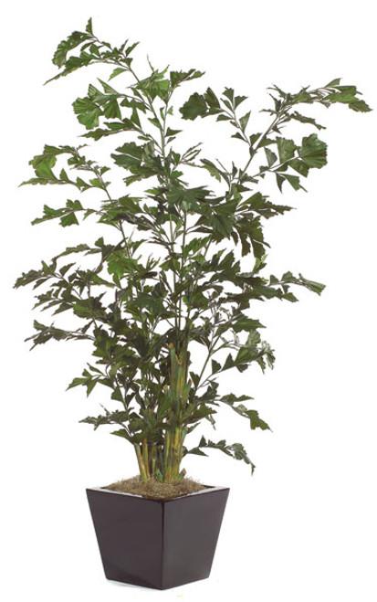 8' Fishtail Palm Tree Regular Foliage or Fire RetardantDecorative Pot Sold Separately