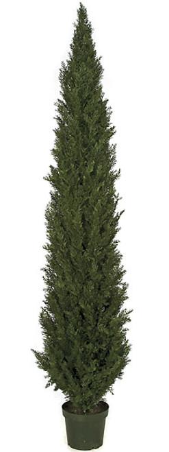 9 Foot Plastic Cedar Tree
