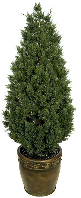 "A-8418558"" Plastic Cedar TreeDecorative Pot Sold Separately"
