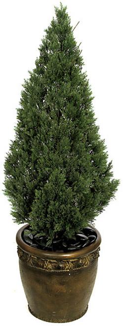 A-841844' Plastic Cedar Tree